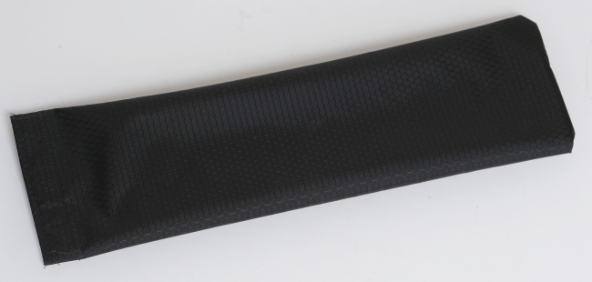 Full Lengh nylon pouch - Black, Full length storage pouch for use inside Rock Bar case.  Color is black. Made from hexaganol coated ripstop nylon.  Velcro opening at top. Ideal if you need an extra pouch or a replacement pouch.